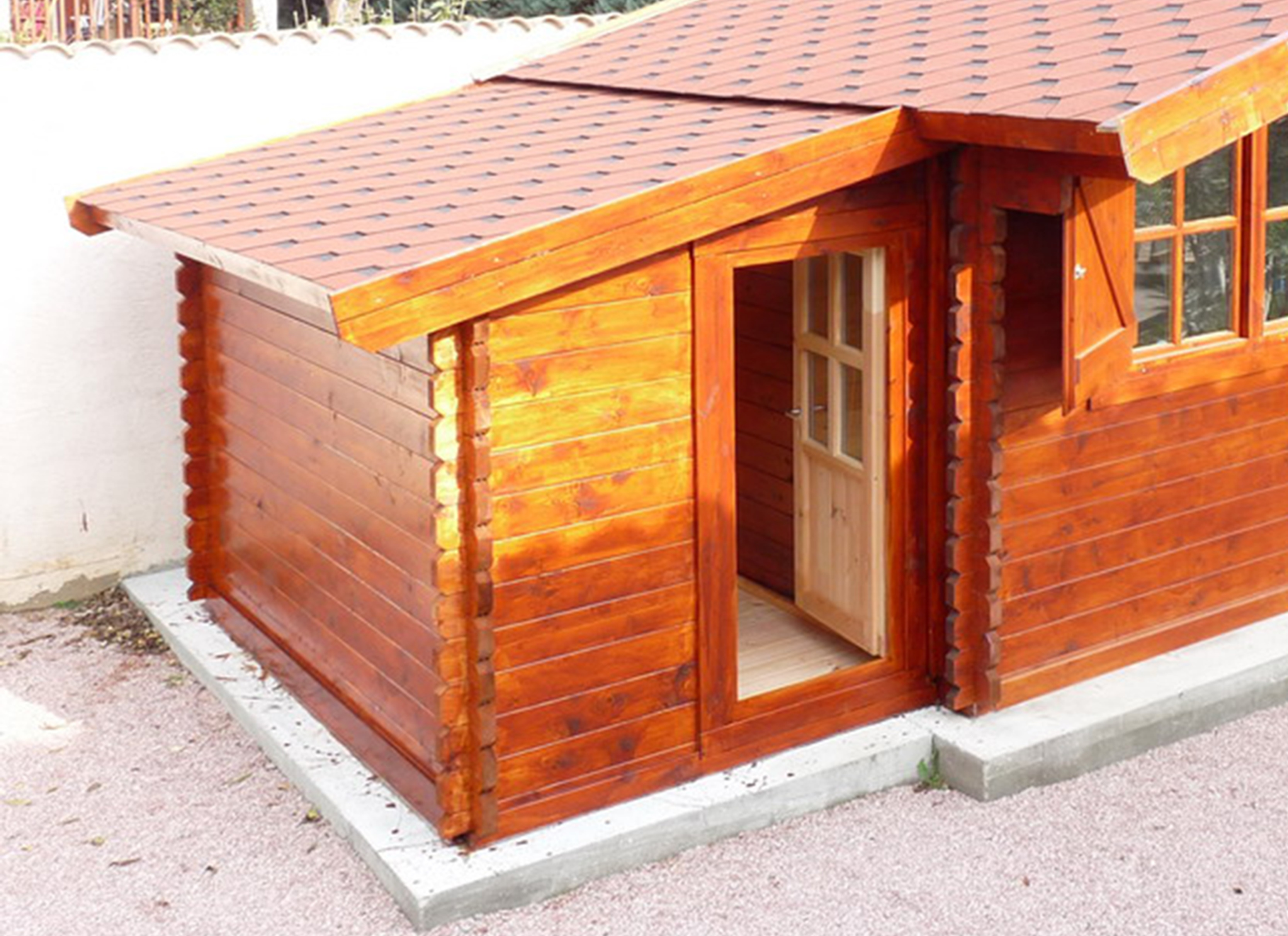 Storage shed 2,7 m x 1,6 m (28 mm)