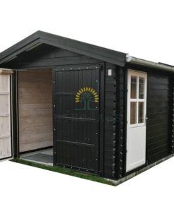 Trä garage 19.9m² (3,60 x 5,35), 44 mm