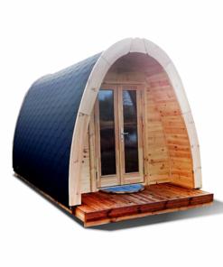 Lyxig Isolerad Camping Pod 3 m