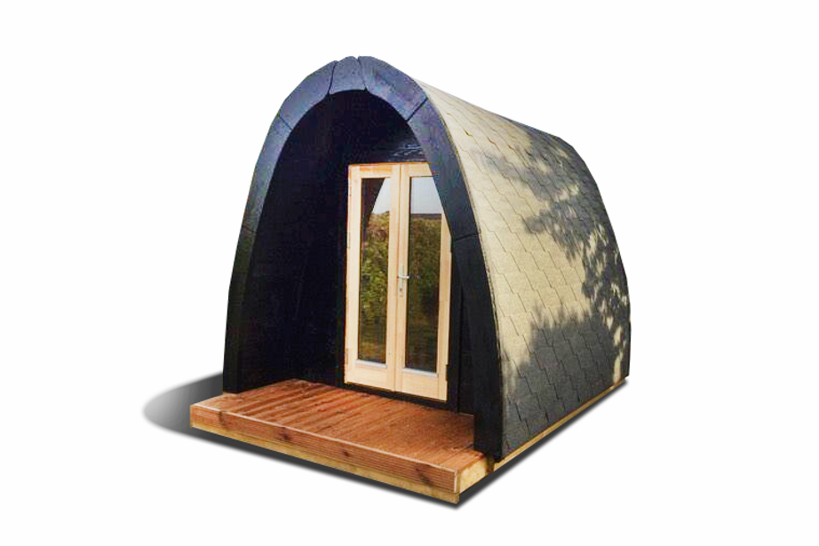 Lyxig Isolerad Camping Pod 3 m, bra för året runt användning)