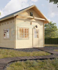Attefallshus med loft AVIGNON 19.9m²
