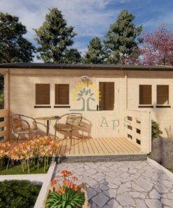Sommarhus 31 m² Hakan, 44mm