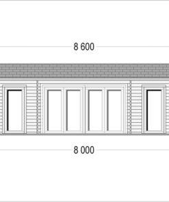 Fritidshus MILA 56 m²