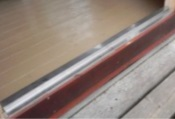 Stainless steel door sill